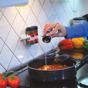 Self-adhesive Spice Rack Strips (4)