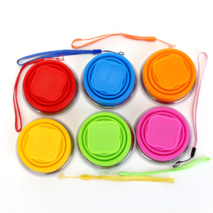 Collapsible Picnic Cups (Set of 6)