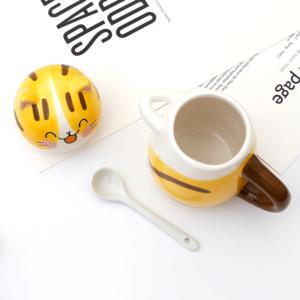 Cat Mug (Spoon & Lid)