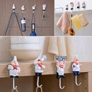 Chef Towel Hook Set (Self Adhesive)
