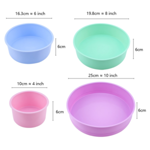Silicone Cake Mould Tins
