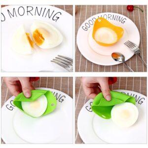 Silicone Egg Poacher Set (4 Pack)