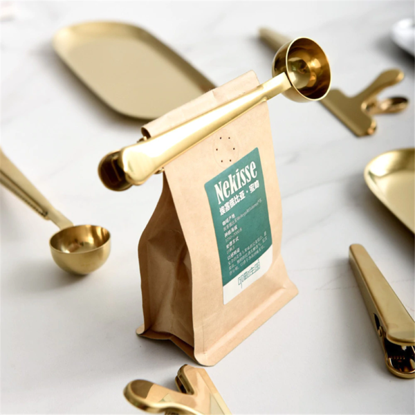 Coffee Bag Clip & Scoop