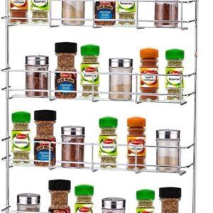 Cupboard Door Spice Rack (Wall Mountable)