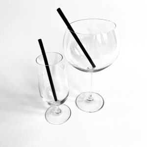 Silicone Gin & Cocktail Straws (Thin)