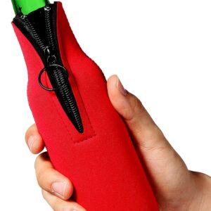 Beer Bottle Neoprene Cooler Sleeves (8)
