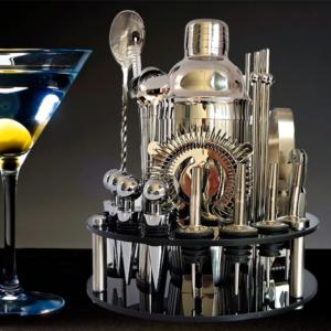 Rotating Cocktail Bar Sets