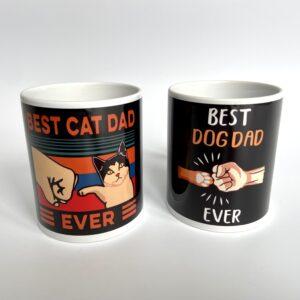 Best Cat/Dog Dad Ever! Mugs