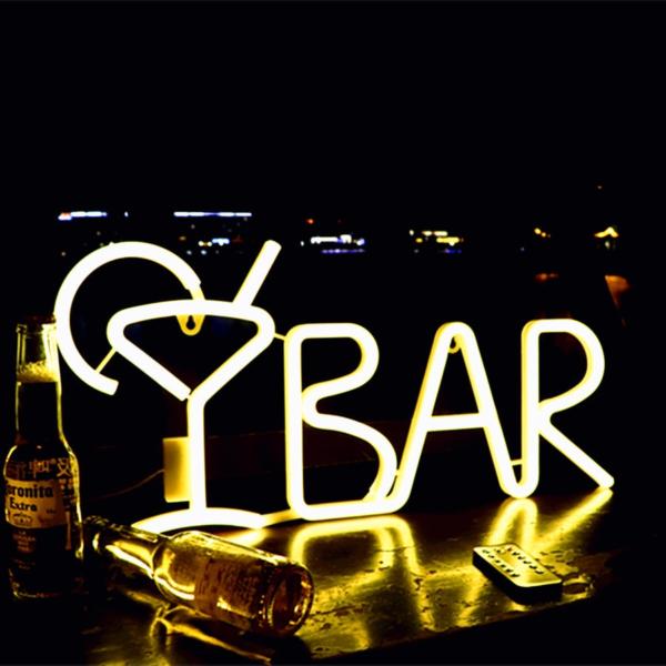 'Bar' Neon Sign