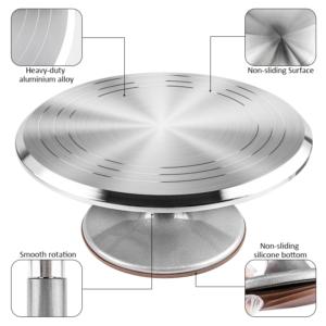 Rotating Cake Turntable (Aluminium)