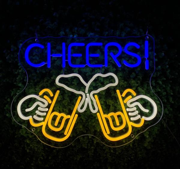 'Cheers' Neon Sign