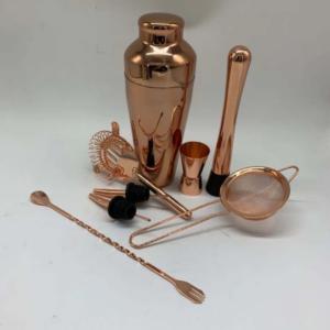 Rose Gold Beautify Copper Parisian Cocktail Set (8pc)