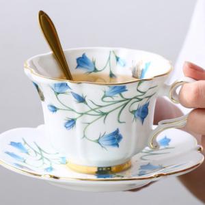 Luxury Bone China Teacup Gift Set for 2