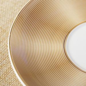 Luxurious Bone China Teacup Set- Golden