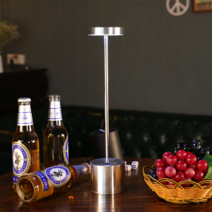 Tall Wireless Dining Table Lamps (Rechargeable)