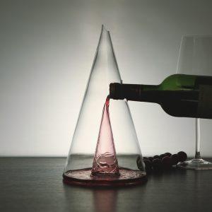 Waterfall Pyramid Wine Decanter