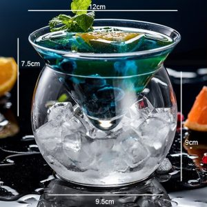 Conical Cocktail Glasses