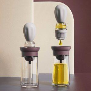 Silicone Oil Brush Bottle