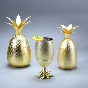 Pineapple Cocktail Tumblers