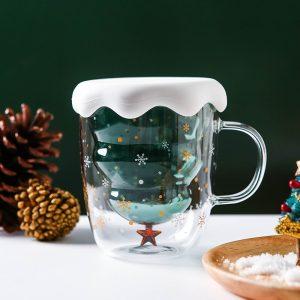 Christmas Gluhwein Glass Mug