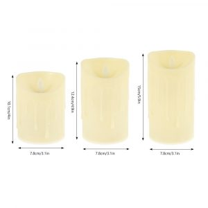 Battery Powered Candle Set